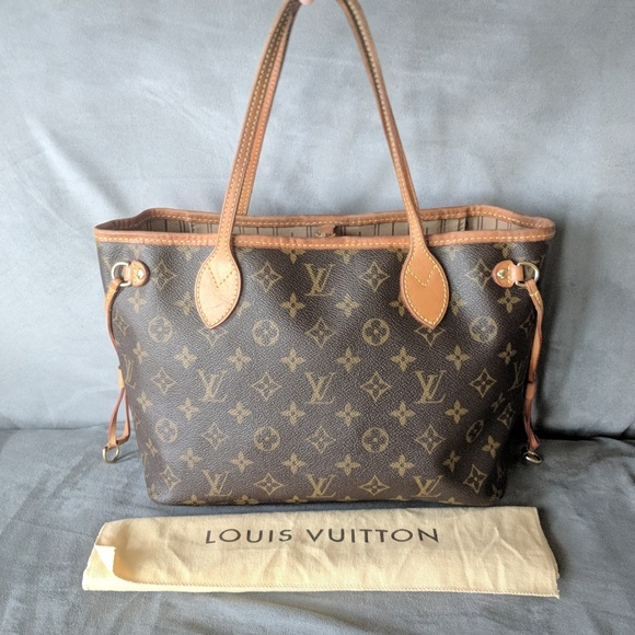 decff129851 Louis Vuitton Neverfull PM Monogram Tote Bag